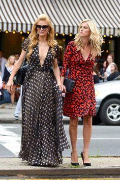 Nicky Hilton Photos: Paris Hilton and Nicky Hilton in NYC