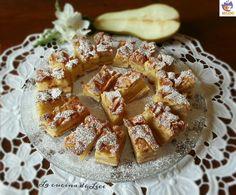 Tocchetti di Torta con Pere,  Mandorle e Cannella - La Cucina di Lice