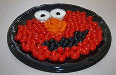Bandejas llenas de vitamitas... platos creativos para niños