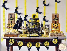 Batman Birthday Party via Kara's Party Ideas | KarasPartyIdeas.com (22)