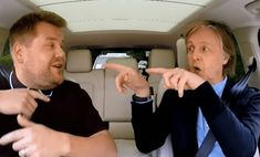 Superstar Paul McCartney Joins James Corden For Epic Carpool Karaoke