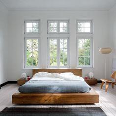 cama 94-solo base de cama esquinas redondeadas, sin cabecera