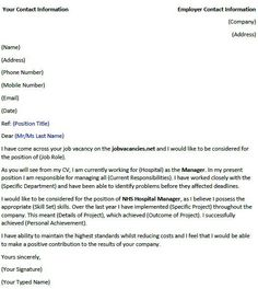 Assistant Immigration Officer Cover Letter Example Cover