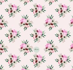 A simple digital vintage rose pattern. Country vibe, Retro pattern, Romantic Rose flower bouquet. Can be applied to fabric and any surface. Retro Pattern, Pattern Design, Romantic Roses, Pretty Patterns, Vintage Roses, Surface Pattern, Bouquet, Autumn, River