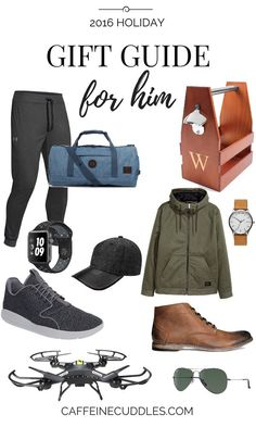 Holiday Gift Guide For Him Find Great Gifts That Your Boyfriend Or Husband Will Love Tons Of The Best Men And Guys Holidays