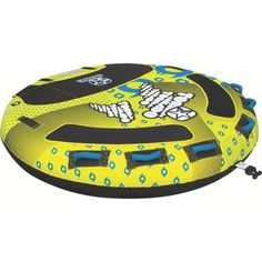 Jobe 230313005 Tornado 3 Person Deck Tube Inflatable Towable, Multicolor