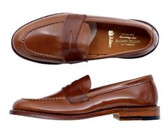 ALDEN UNITED ARROWS The 20th anniversary Penny Loafer  TOM LAST   Wiskey Color  http://www.facebook.com/DressShoesandSneaker  http://dressshoesandsneakers.tumblr.com/