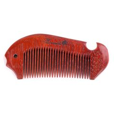 Breezelike No Static Fish Shaped Red Rosewood Pocket Fine Tooth ... ** Visit the image link more details.