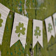 Simple St. Patrick's Day Banner
