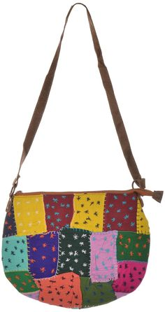 Styleincraft handmade designer Girl's handbag is made up of cotton and traditional (Ethnic) work with black border to give it stylish look. Antique designer Handbag has 2 compartments with Authentic Designing base. High quality chains and best raw materials used to provide 100% customer satisfaction #buyhandbagsonline #HandmadeHandbags #authenticdesignerhandbags #womenswallets #pursesonline #handmade items
