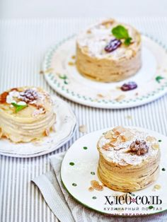 Блинные тортики с кремом из апельсинов и сгущенки - фото рецепт