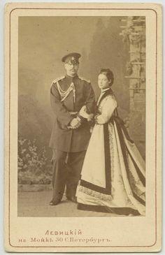 Tsar Alexander III and empress Marie feodrovona