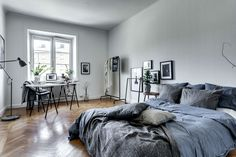 23 Soothing Scandinavian Bedroom Designs