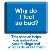 Free self help for depression/ anxiety with downloadable pamphlets.