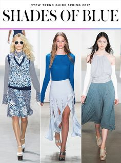 Top 10 Trends from NYFW Spring 2017 | BLUE | Michael Kors; Prabal Gurung; Jill Stuart | Fashion Week SS17