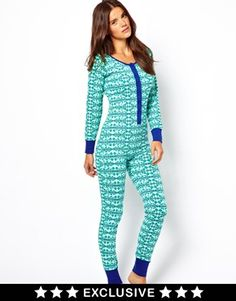 Stay warm with this oneies. Great for bed or layer underneath your clothes.