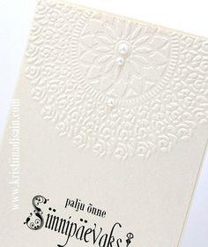 Handmade wedding invitations, scrapbooking, käsitööna valminud kaardid ja pulmakutsed