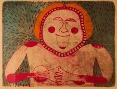 Femme Souriante by Rufino Tamayo