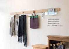 古き良き和室の伝統「長押(なげし)」をヒントに。#壁面収納