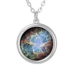 Crab Nebula Custom Jewelry