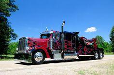 Custom Kenworth Wrecker