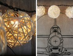 DIY Patio Lights | Click Pic for 24 DIY Garden Lighting Ideas | DIY Outdoor Lighting Ideas
