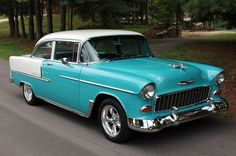 1955 Chevy Bel Air 2-Door Sedan. Maintenance/restoration of old/vintage vehicles: the material for new cogs/casters/gears/pads could be cast polyamide which I (Cast polyamide) can produce. My contact: tatjana.alic@windowslive.com: