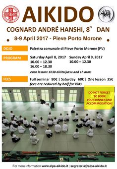Aikido in Pieve Porto Morone (Italy) - http://bit.ly/2n6ggnh