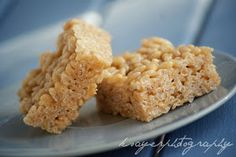 Gluten Free Peanut Butter Rice Crispy Treats