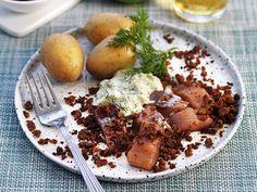 10 lättlagade middagar för dig som vill gå ner i vikt   Allas Recept Raw Food Recipes, Healthy Recipes, Healthy Food, Mashed Potatoes, Food And Drink, Pork, Chicken, Ethnic Recipes, Twins