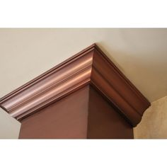 """What a beautiful crown for our newest range hood style! 30"""" Range Hood - ZL8KB-Copper-30 - The Range Hood Store"""
