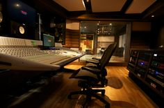 Quad Recording Studios. New York.
