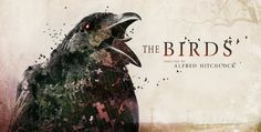 The Birds - Movie Title Redesign in the Good, the Bad, the Title sequence on Vimeo The Birds Movie, Alfred Hitchcock The Birds, Art Of The Title, Aerial Footage, Title Sequence, Movie Titles, Moving Pictures, Stop Motion, Motion Design