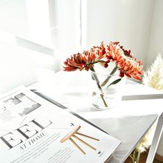 It's so important to organize your space in a way that works for YOU. What is going to give you the F E E L S when you walk in the door? For me it's flowers   and clear counters! What about your home brings you joy?
