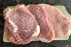 Jogurtowo-musztardowe kotlety schabowe. Ekstra kruche i soczyste. - Blog z apetytem Cooking Recipes, Healthy Recipes, Pork, Food And Drink, Menu, Bread, Snacks, Baking, Dinner