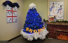 Westminster Branch 2013 - Broncos Hat Westminster, Christmas Tree Decorations, Xmas Tree Decorations, Christmas Tree Ornaments