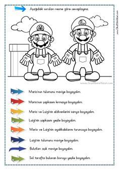 OKUDUĞUNU ANLAMA – Oku – Boya Çalışması 9 - Seyit Ahmet Uzun – Eğitime Yeni Bir Bakış Turkish Language, Reading Passages, Grade 1, Eminem, Kindergarten, Crafts For Kids, Humor, Education, Comics