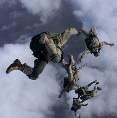 """Real life heroes. USAF Pararescue - """"That Others May Live"""""""