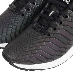 Adidas Originals ZX Flux EM Black/White/Black 2016 Casual Lifestyle