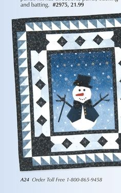 Keepsake Quilting - Holiday Projects - page A24