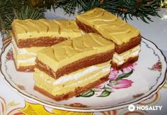 Érdekel a receptje? Sweet Cookies, Hungarian Recipes, Sweet Life, Tiramisu, Cheesecake, Pie, Baking, Ethnic Recipes, Sweet Stuff