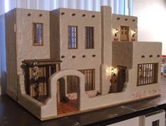 My Miniature Menagerie: The Southwest Bungalow