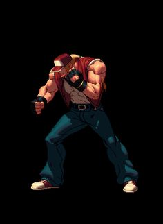 Terry Bogard - King of Fighters XII Pixel Artist(s): SNK Playmore Source: kofaniv.snkplaymore.co.jp More Animated Characters can be viewed in the official KOFXII Gallery