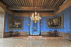 Château de Sully-sur-Loire Chambre à coucher