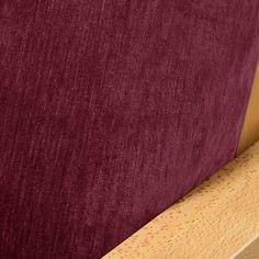 Chenille Raspberry Futon Cover