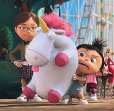 ITS SO FLUFFY I'M GUNNA DIE! I was sooo excited to get a unicorn pillow pal for Christmas after i saw this movie :D