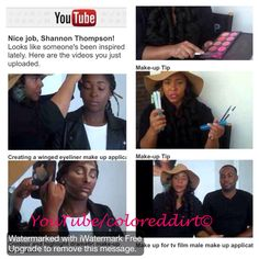 """New  make up tutorial videos now on my YouTube channel go to https://www.youtube.com/channel/UCK3DzpVT_DUFlmJa1JL6d_g NOW to see all the new make up applications  and beauty tips and tricks that are so helpful and easy ! And while your there just click the subscribe tab! So you can be a part of all the videos as they arrive !   If you want to learn even more pick up my make up book """" make up is just colored dirt"""" available at amazon.com"""