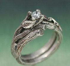 Nature Engagement ring! Must have!