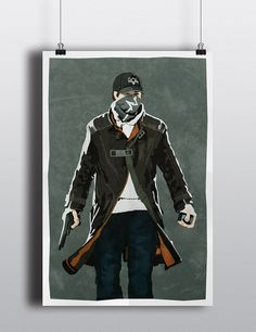 Cool Watch Dogs poster