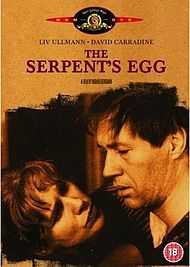 The Serpent's Egg is a 1977 American-West German drama film directed by Ingmar Bergman and starring David Carradine and Liv Ullmann. The sto...